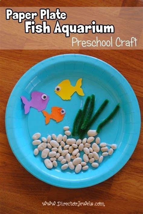 paper plate aquarium craft 25 best ideas about aquarium craft on