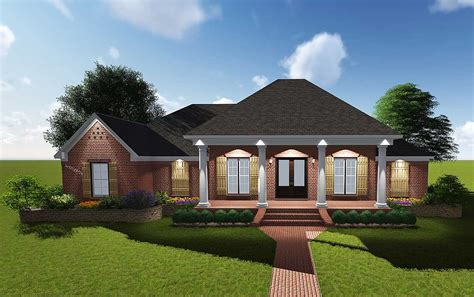 plans for homes attractive acadian with grand rear porch 83878jw architectural designs house plans