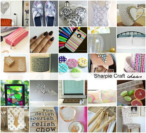 diy crafts for diy sharpie craft ideas the idea room