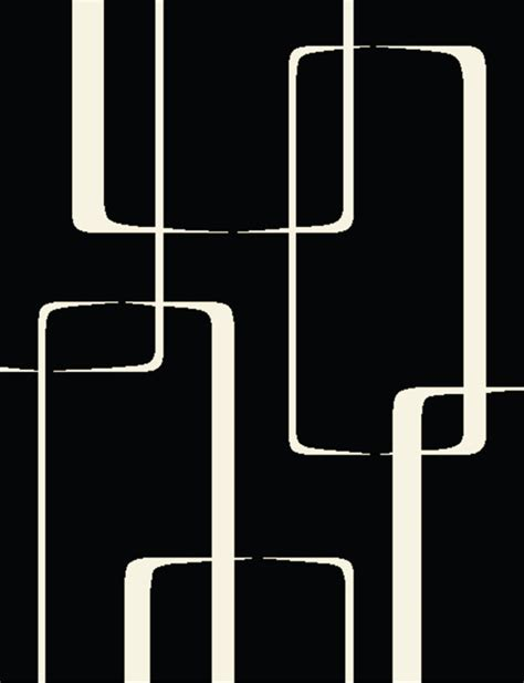 creative home area rugs modern black white rug 3256