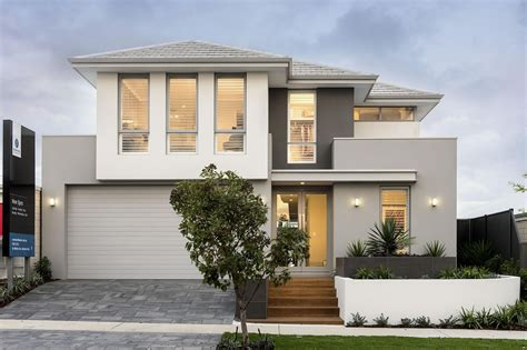 modern two storey house with streamline roof narrow lot houses sumptuous narrow lot homes perth