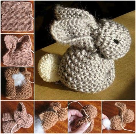 how to knit a bunny how to knit an easter bunny pictures photos and images