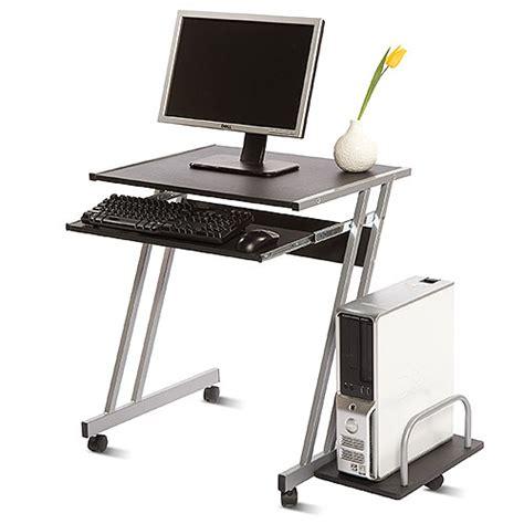 computer desk from walmart cambridge mobile computer cart black and silver walmart