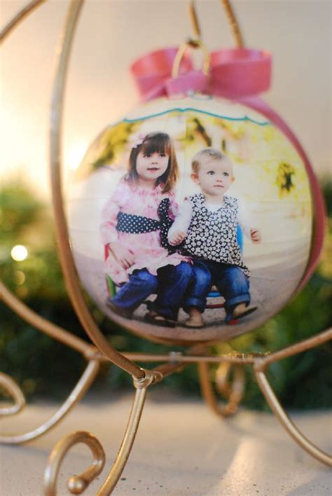 decoupage ornament decoupage ornaments winter