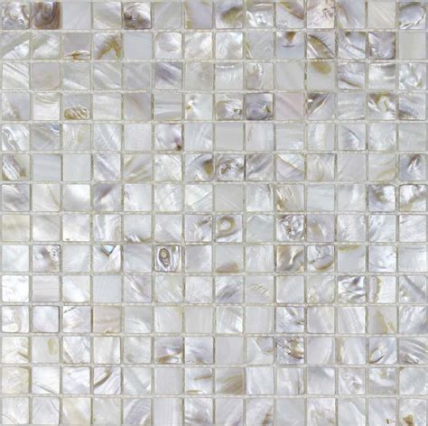 shell tile backsplash of pearl tile 4 5 quot shell tiles kitchen