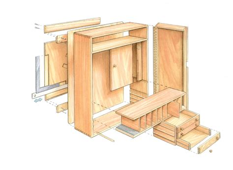 woodworking tool storage plans to build tool cabinet finewoodworking