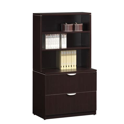 classic 2 drawer lateral file with hutch workplace partners
