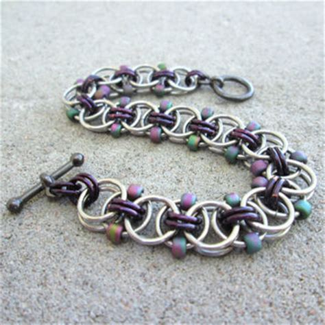 beaded chain mail jewelry best beaded and chainmaille jewelry products on wanelo