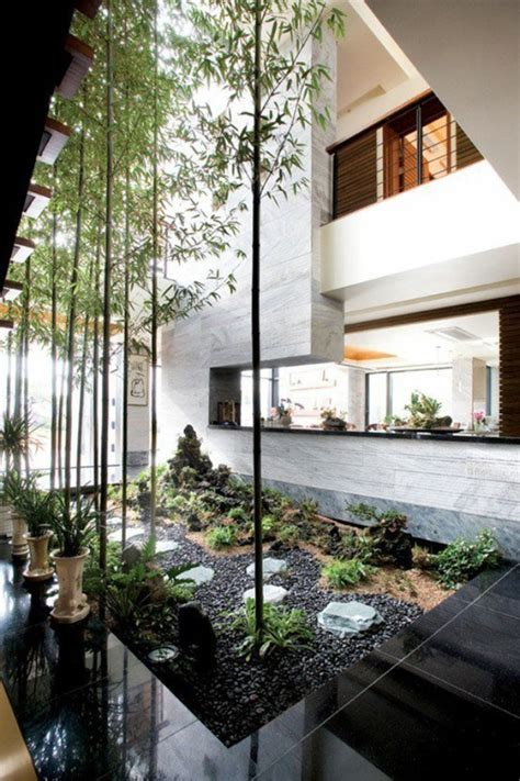 garden home interiors indoor courtyard design ideas