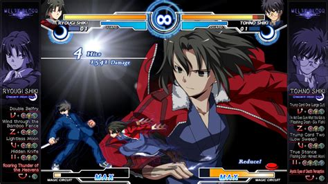 melty blood review melty blood again current code comes five