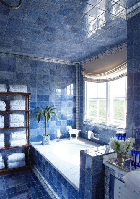 bathroom ideas blue and white 36 blue and white bathroom tile ideas and pictures