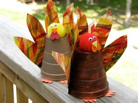 paper cup turkey craft coisas mi 250 das enfeites para as crian 231 as se divertirem