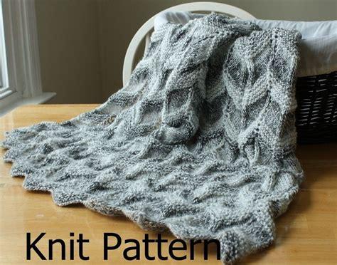chevron baby blanket knitting pattern custom knit baby blanket pattern easy ripple chevron by