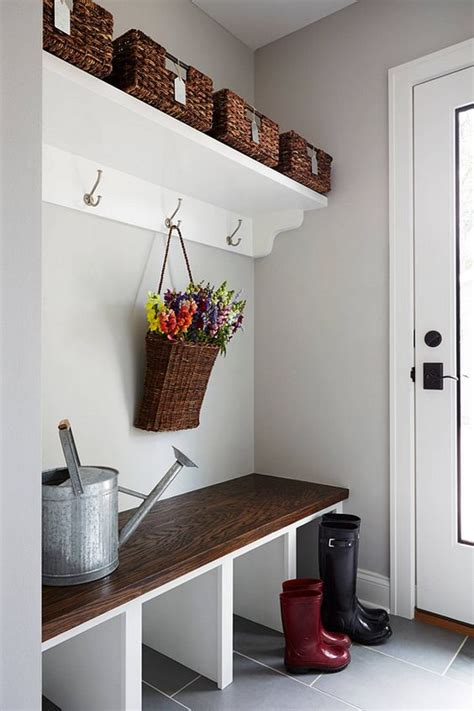 laundry room storage ideas for small rooms 32 small mudroom and entryway storage ideas shelterness