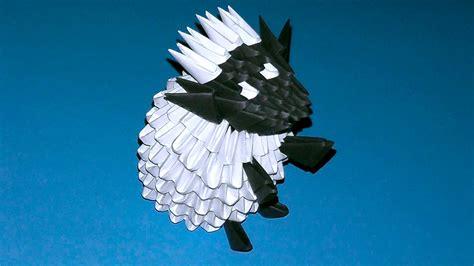 3d origami sheep 3d origami shaun the sheep sheep ewe ram tutorial