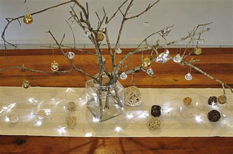small table decorations table decoration stick tree be a