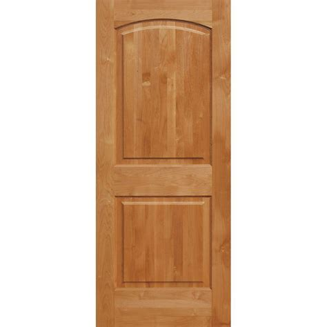 prehung solid wood interior doors krosswood doors 32 in x 96 in superior alder 2 panel top