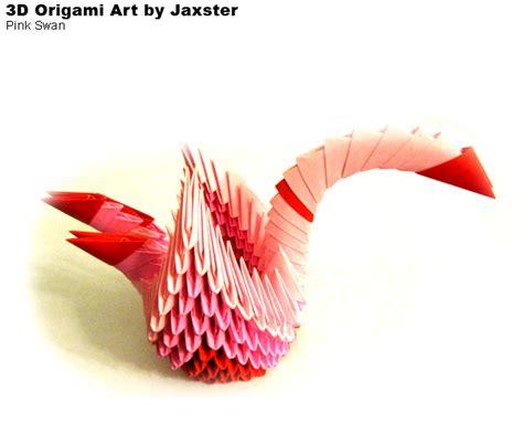 3d origami swan boat 3dorigami pink swan album jaxster 3d origami