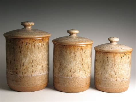 Kitchen Canister kitchen canisters archives brent smith pottery brent