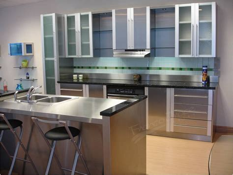 stainless cabinets kitchen kitchen captivating stainless steel kitchen cabinets doors the advantageous and valuable