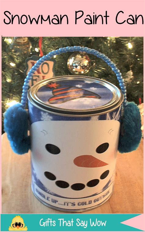 paint gift ideas gifts that say wow crafts and gift ideas paint cans
