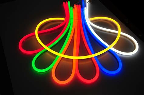led rope light price brilliant custom cut 120 volt led neon rope light