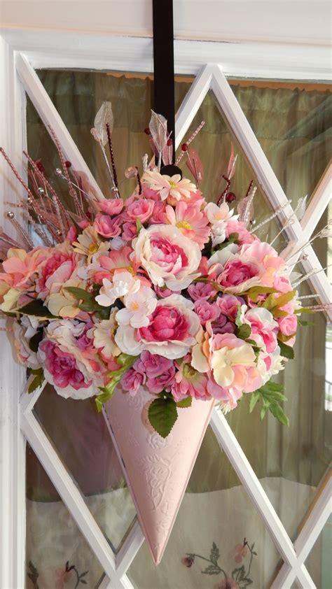 shabby chic floral arrangements chandeliers pendant lights
