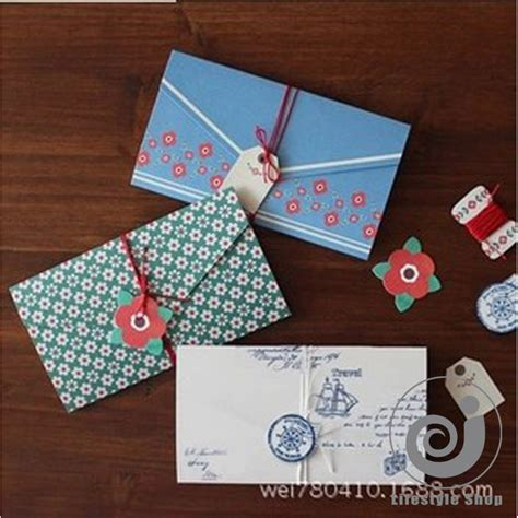 folding greeting cards 4 pcs lot vintage floral folding greeting card thank you