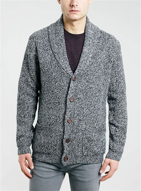 mens knitted cardigan mens chunky knit cardigans