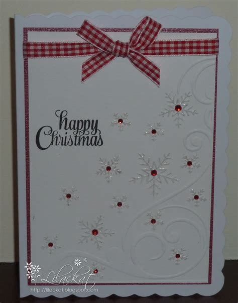embossing card lilackat anyone for an embossed card