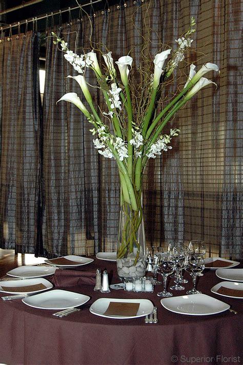 Calla Lily Home Decor superior florist event florals centerpieces