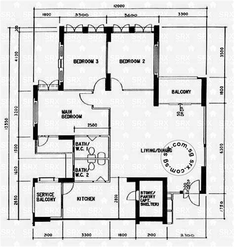 property floor plan floor plans for serangoon road hdb details srx