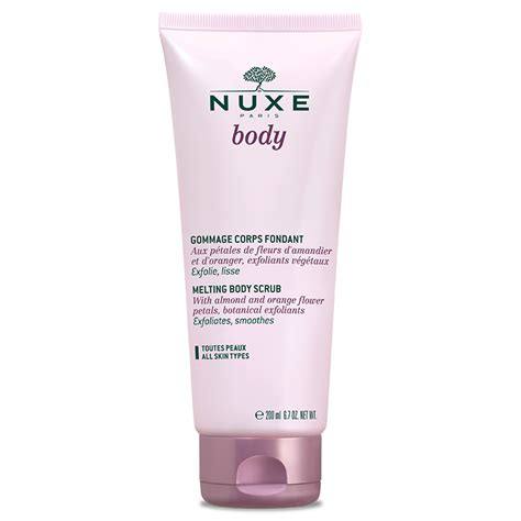 In Shower Lotion by Body Scrub Nuxe Body Exfoliating Body Scrub Nuxe