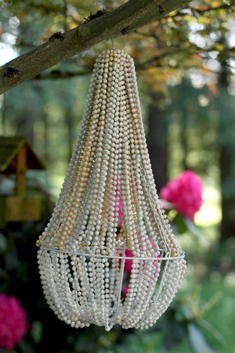 diy bead chandelier 22 diy chandelier ideas stylecaster