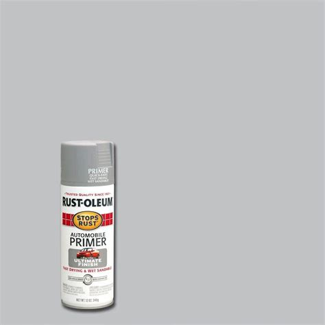 home depot spray paint metal rust oleum stops rust 12 oz clean metal primer spray