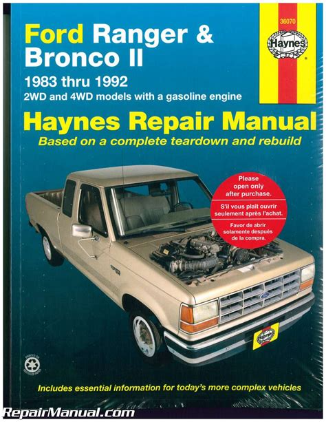 service manual manual repair free 1985 ford bronco regenerative braking service manual