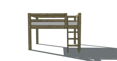 loft bed woodworking plans loft bed woodworking plans bed plans diy blueprints
