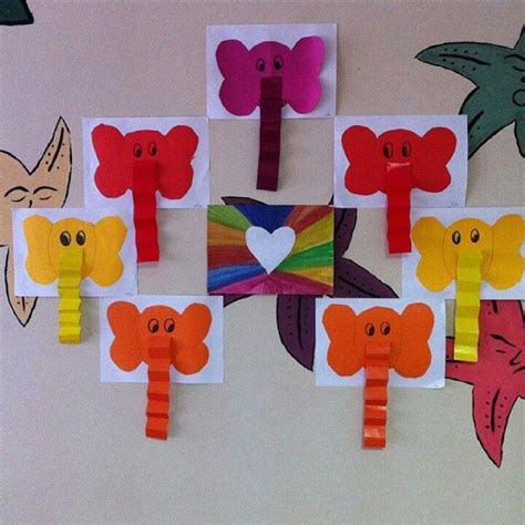 preschool craft projects 25 best ideas about elephant crafts on zoo