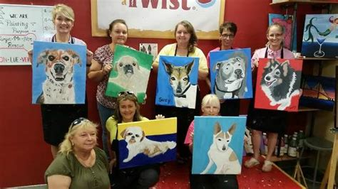 painting with a twist paint your pet paint your pet picture of painting with a twist