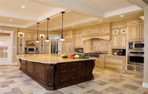 big kitchen ideas luxury design ideas for a large kitchen
