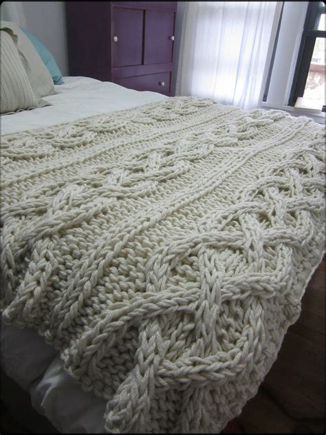 cable knit throw cable knit blanket made to order by ozarksmomma on etsy
