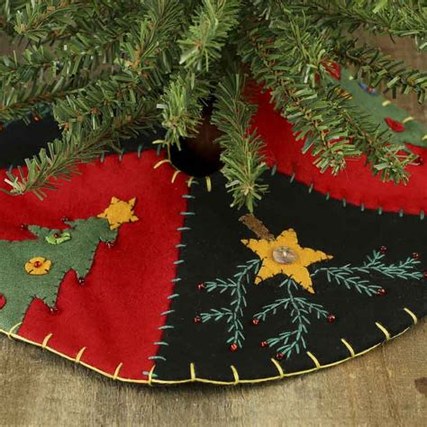 embroidered tree skirts small tree and embroidered tree skirt