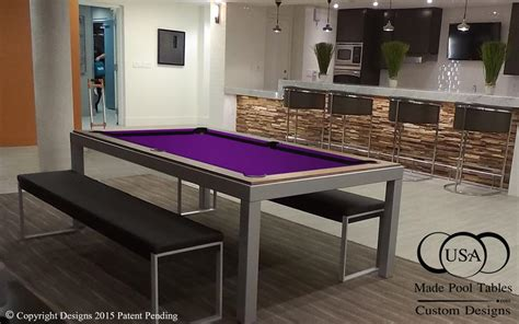 fusion pool table fusion industrial pool table steel pool table metal