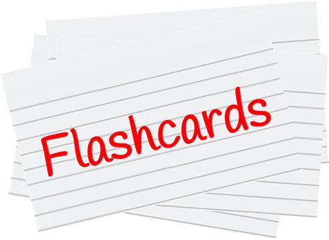 flash cards flashcards tips for student success