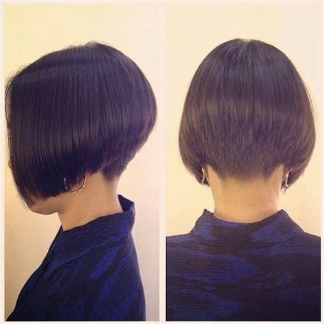 bobbed haircut with shingled npae 902 best images about short inverted bobs on pinterest