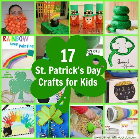 st patricks day kid crafts 17 st s day crafts for craft holidays and
