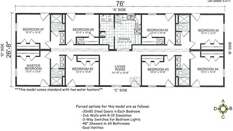 5 bedroom mobile homes floor plans houseofaura 5 bedroom wide floor plans bedroom wide