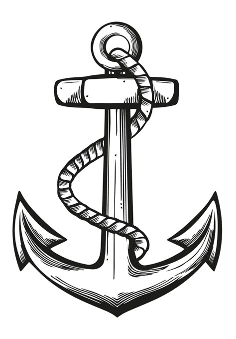 anchor rubber st attic coloring pages