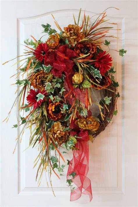 wreaths for front door front door warning go big or go home