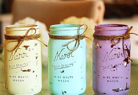 chalk paint jars diy jar crafts how to chalk paint your jars